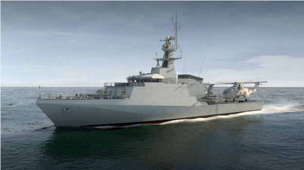 MOD approves two new Royal Navy ships, due 2018