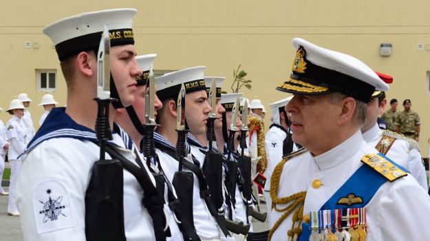 New Royal Navy base opened in the Gulf will help quash Daesh threat