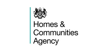 The Homes and Communities Agency logo
