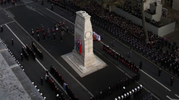Armed Forces past and present thanked on Remembrance Sunday