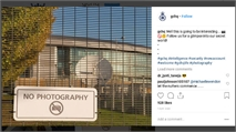 Peek behind the scenes at GCHQ on Instagram