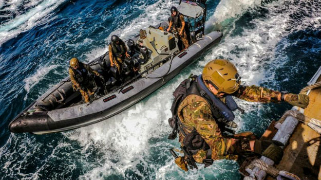 Royal Marines 'on training exercise' in Gulf