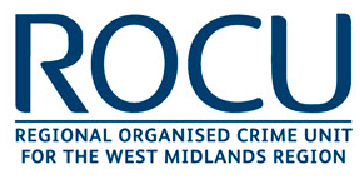 Regional Organised Crime Unit (ROCU) for the West Midlands logo