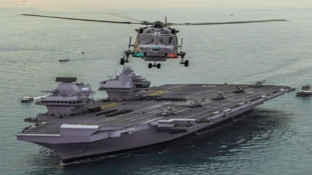 HMS Queen Elizabeth to be deployed to US