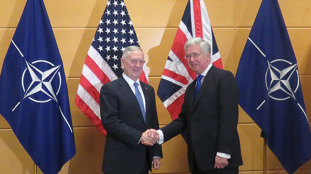 NATO must match UK's 2% defence spend to tackle new threats, says Fallon
