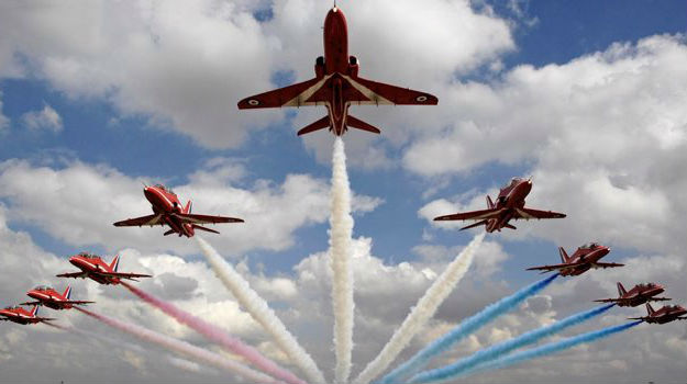 Red Arrows to tour Middle East in September