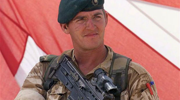 Jailed marine Alexander Blackman released from prison