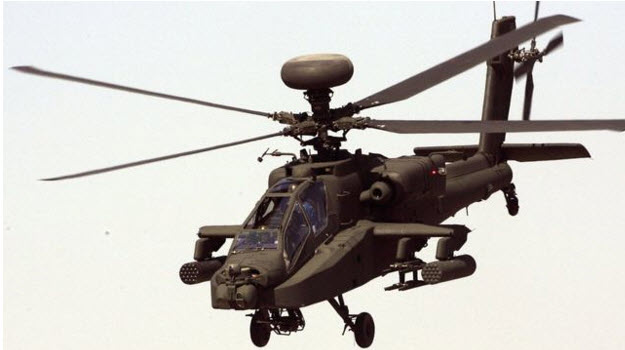 Boeing likely to win MoD Apache deal