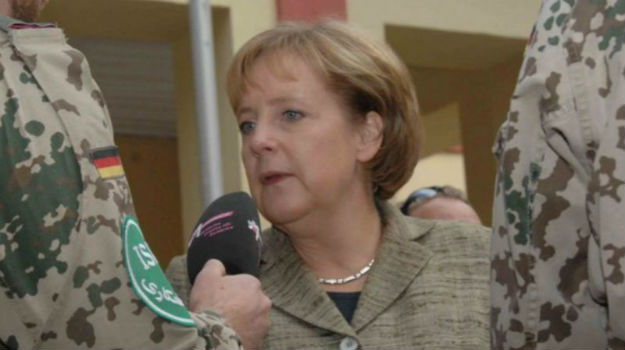 German chancellor endorses joint European aircraft carrier