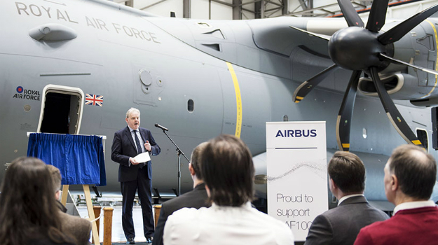 Massive new £70m aircraft hangar opened in Oxfordshire