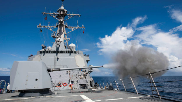 BAE Systems to upgrade US Navy guns