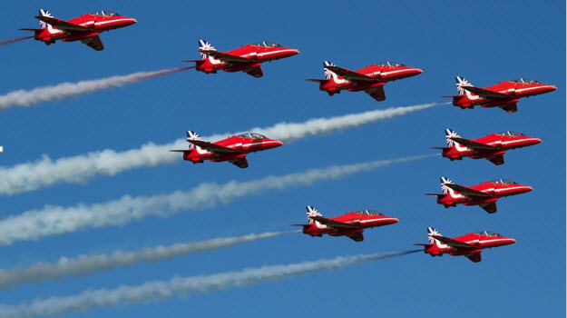 Red Arrows to perform at Cleethorpes air show