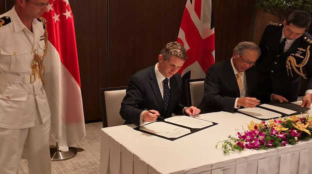 UK and Singapore strengthen defence ties with Memorandum of Understanding