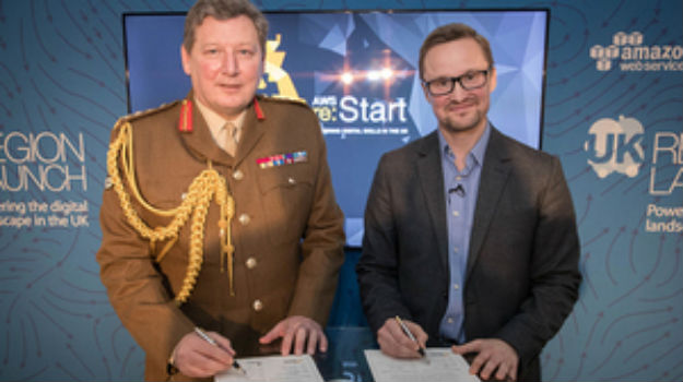 Amazon Web Services signs Armed Forces Covenant