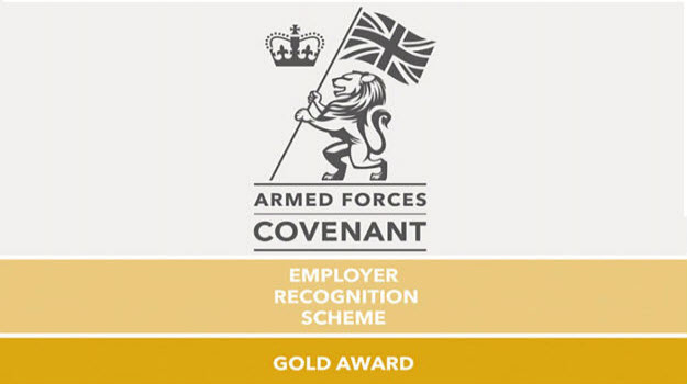 Employers go for gold with armed forces support