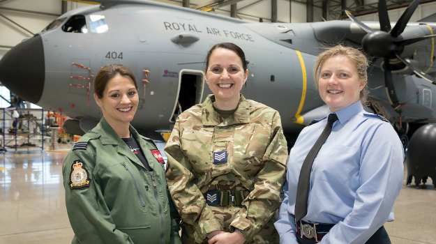 Role of women in the armed forces celebrated on International Women's Day
