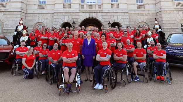 Team UK's Invictus Games lineup revealed