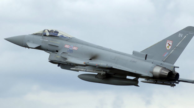 Final UK Typhoon squadron to enter service