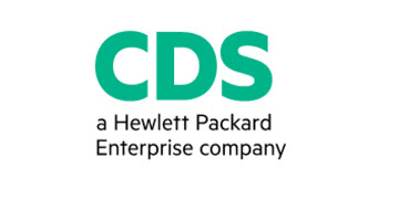 CDS - A Hewlett Packard Enterprise Company logo