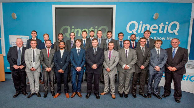 QinetiQ attracts record number of new apprentices