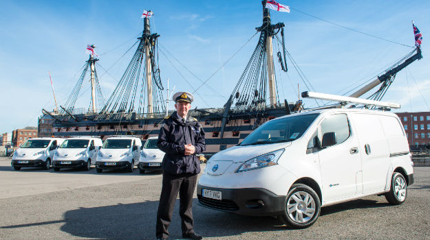 Royal Navy goes electric with Portsmouth base